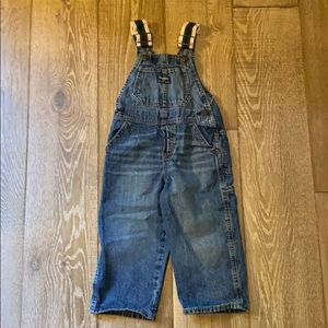 OshKosh B'Gosh Denim Overalls 2T